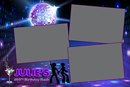 Birthday Party Photo Booth Rental Design